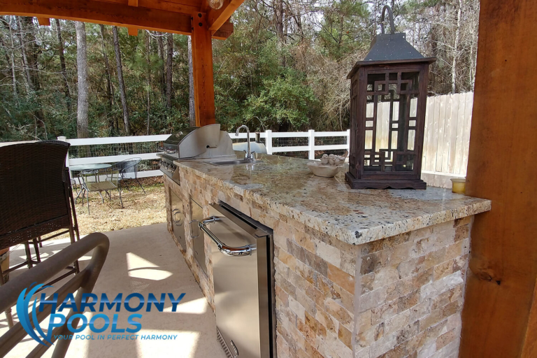 covered outdoor kitchens tx 77845