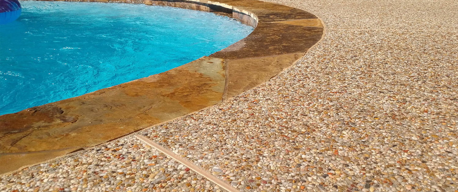 standard pool material finishes