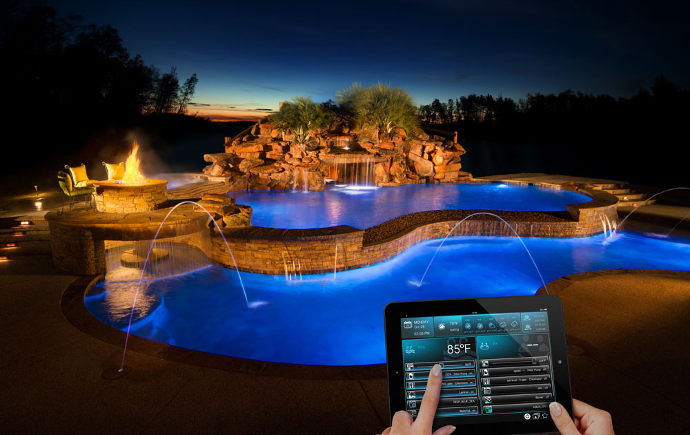 swimming pool automation features