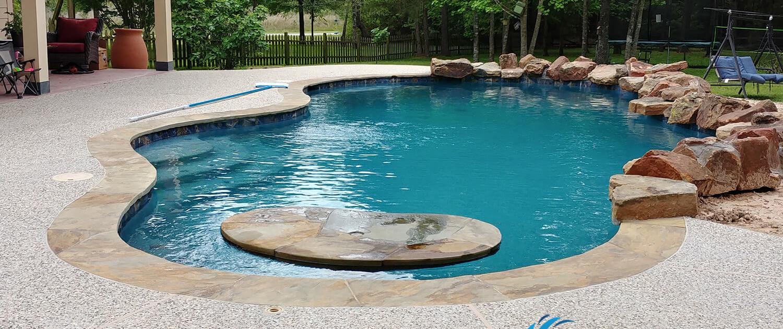 swimming pool construction company navasota, tx