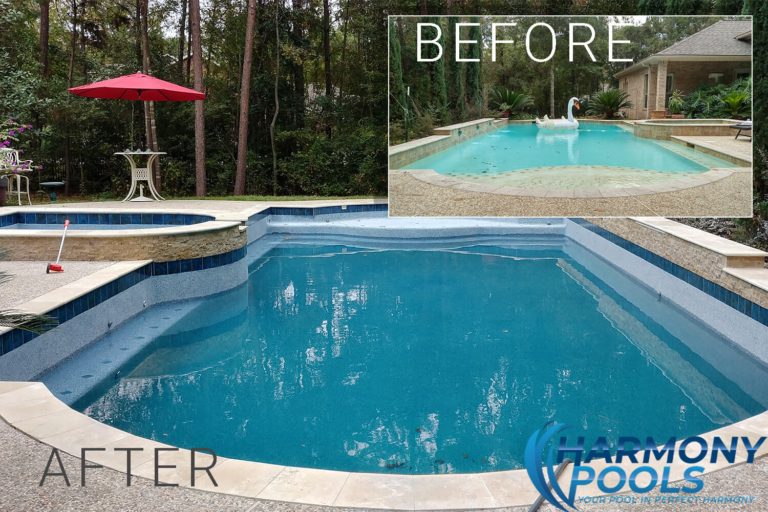 swimming pool remodeling near college station tx