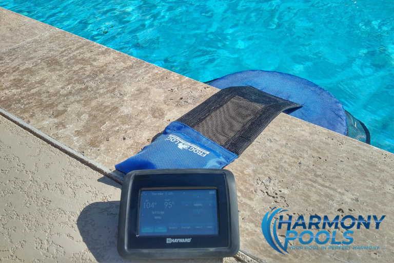 swimming pool wireless control features