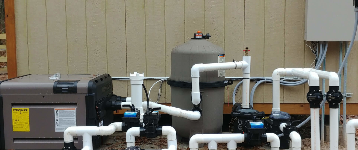 upgrade swimming pool equipment college station tx